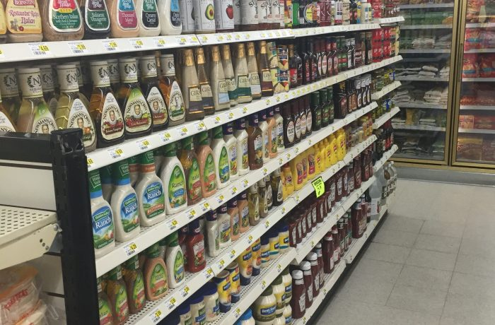 Dressing and condiments