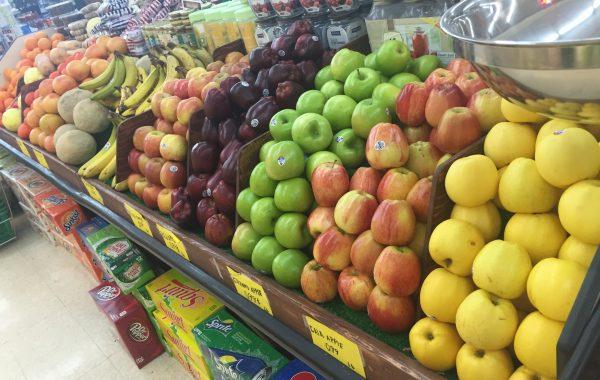 Fresh fruit And Fresh vegetables